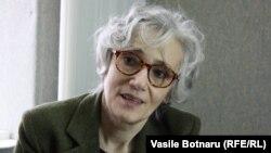 Oana Serafim, director of RFE/RL's Moldovan Service.