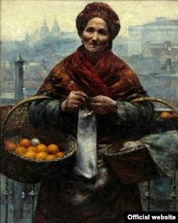 «Єврейка з лимонами» авторства Олександра Геримського (фото – www.mkidn.gov.pl)