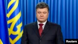 На снимке: президент Украины Пётр Порошенко