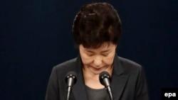 Экс-президент Южной Кореи Пак Кын Хе. Архивное фото.