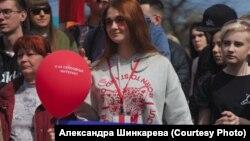 Активистка Мария Рабинович