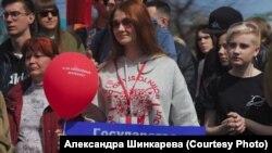 Активистка штаба Навального в Иркутске Мария Рабинович