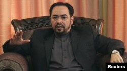Salahuddin Rabbani took over the chairmanship of Afghanistan's High Peace Council after the assassination by the Taliban of his father, former President Burhanuddin Rabbani.