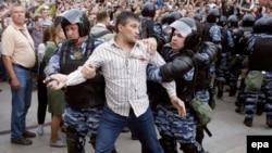 Moskvada etiraz aksiyası - 12 iyun 2017