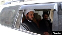 Akron Kaabi, the leader of Harakat Hezbollah al Nujaba of Iraq. File photo