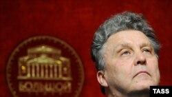 Мәскеудегі Үлкен театрдың басшысы Василий Синайский. 21 қыркүйек 2011 жыл.