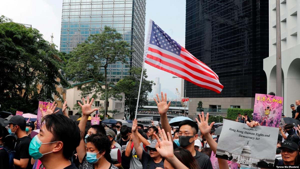 Сенат США одобрил законопроект о защите прав человека в Гонконге
