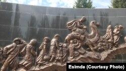 Мемориал вчесть столетия Уркуна (Великого исхода), г. Каракол.