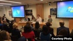 На слушаниях «Последствия подавления прав человека в Азербайджане» в Вашингтоне, 27.10.2014