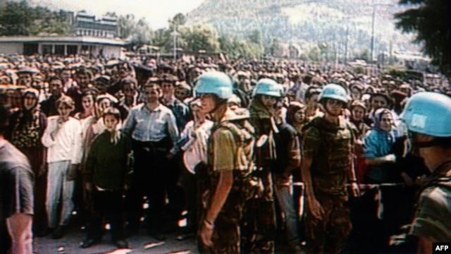 Snage UN u Srebrenici 1995. godine