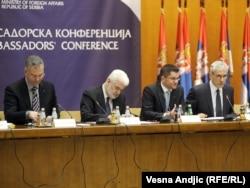 Ambasadroska konferencija u Beogradu, 16. januar 2012.