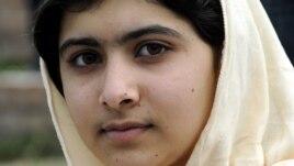 Pakistani schoolgirl and peace campaigner Malala Yousafzai