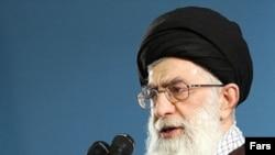 علی خامنهای رهبر جمهوری اسلامی