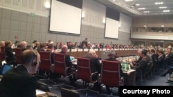 Austria/OSCE - The OSCE's Permanent Council discusses the Nagorno Karabakh conflict, Vienna,13Nov,2014