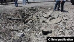 Երևան-Սևան ավտոճանապարհին պայթյունի հետևանքները, 2-ը օգոստոսի, 2019թ․