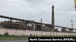 Владикавказский завод «Электроцинк» до пожара