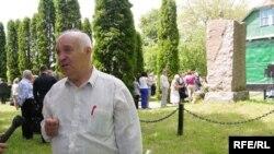 Письменник Євген Шморгун: «Тут щороку обіцяють створити меморіальний комплекс»