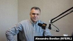 Analistul politic Igor Boțan în studioul Europei Libere