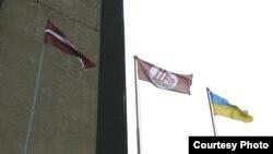 Украинский флаг над Лиепаей: крымско-донецкий бизнес ищет новые сферы деятельности. Снимки Марии Кугель