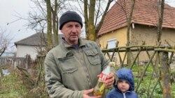 Videón az elnéptelenedő falu, ahol a helyieket ukránok és táskás emberek váltják