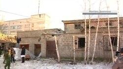 Загострення на Донбасі: обстріляно Макіївку (відео)