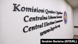 Komisioni Qendror i Zgjedhjeve.