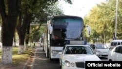 Автобуслар 25 сентябрь куни белгиланган манзилга етиб боришади.
