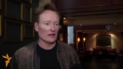 TV Comic Conan O'Brien On Armenian Tour