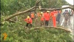 В Індії потужний циклон приніс жертви й руйнування