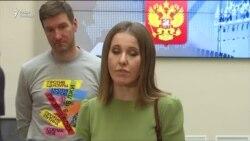 Ксения Собчак подала документы в Центризбирком