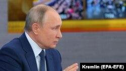 Орусиянын президенти Владимир Путин, 17-декабрь, 2020-жыл.