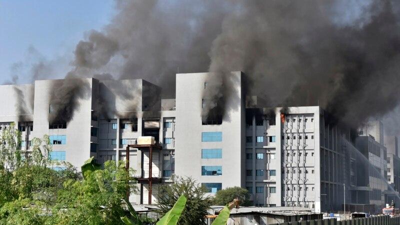 Индија - Пожар во фабрика на најголемиот светски производител на вакцини