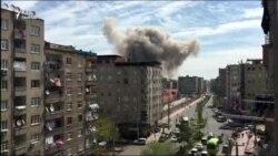 Взрыв в полицейском участке в Турции