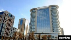 Azerbaijan -- JW Marriott Absheron hotel in Baku,