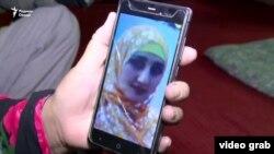 Sarvinozi Abdukhalil, tajik woman, who in Syria, 25May2019
