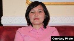 Айман Сагидулла, учитель из села Жанатурмыс Карасайского района Алматинской области.