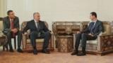 Встреча Сергея Аксенова с Башаром Асадом в Сирии