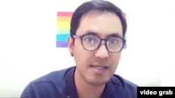 Шохрух Салимов, живущий за рубежом представитель ЛГБТ-сообщества Узбекистана.