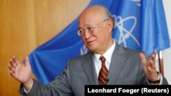 International Atomic Energy Agency (IAEA) chief Yukiya Amano (file photo).