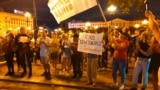 Russian Protesters Continue Marching To Support Fired Governor