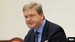 Єврокомісар Штефан Філе