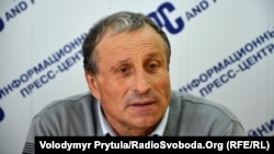 Crimean-based journalist Mykola Semena (file photo)