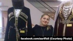 Ingush activist Zarifa Sautiyeva (file photo)