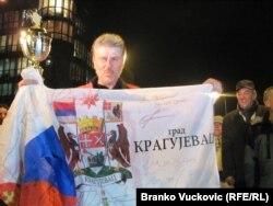Dragan Jovović po povratku u Srbiju