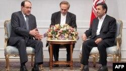 المالكي ونجاد -طهران 23 نيسان