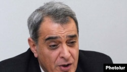 Armenia - Davit Shahnazarian, a senior member of the opposition Armenian National Congress.