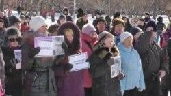 Митинг памяти Бориса Немцова в Красноярске