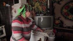 Що показують по телевізору в селищі Невельському Донецької області? (відео)