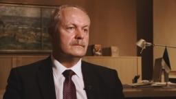 Спикер парламента Эстонии Хенн Пиллуаас