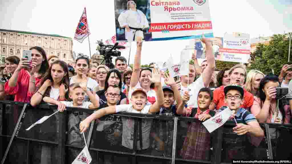 Публіка шалено підтримувала українських спортсменів